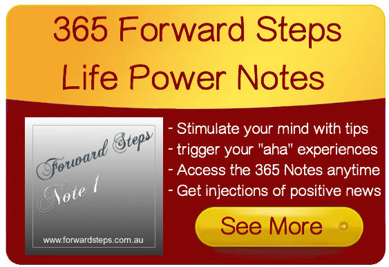 Forward Steps 365 Life Power Notes