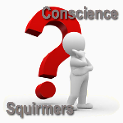 130 Conscience Squirmers