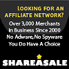 affiliate programs - Share A Sale